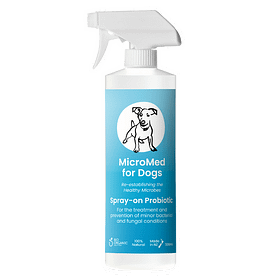 MicroMed for Dogs Acute Care Topical Probiotic Spray-on