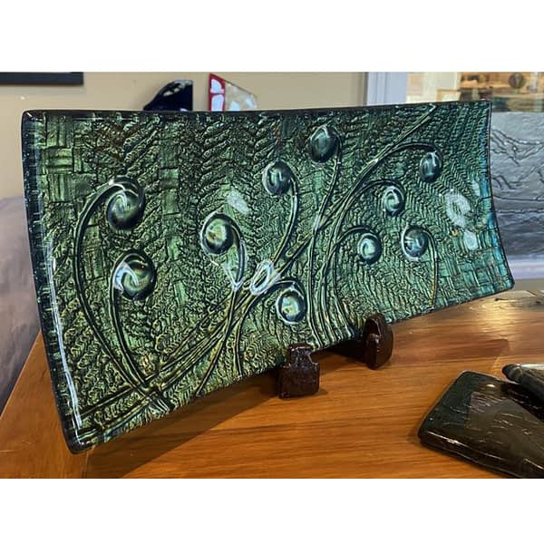 Middle Earth Slumped Glass Tray
