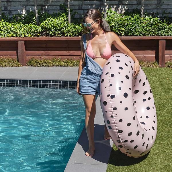 OVERSIZED TUBE FLOAT - BUBBLE MELON