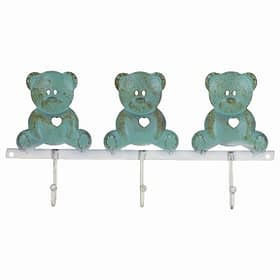 Bear Sitting Trio Wall Hooks