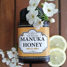 MGO 400+ Certified Manuka Honey