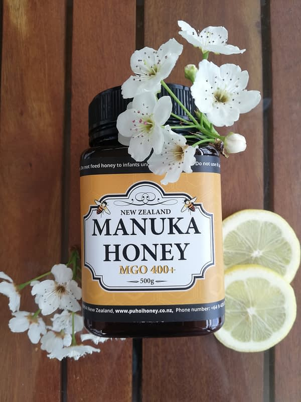 MGO 400+ Certified Manuka Honey
