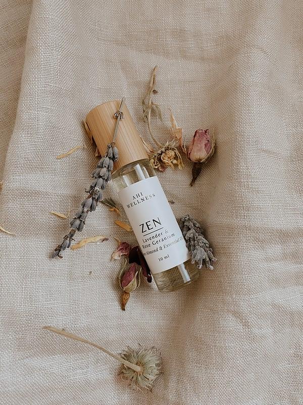 Essential Oils Lavender & Rose Geranium