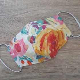 Cloth Face Mask Watercolour/Medium/3-Layers