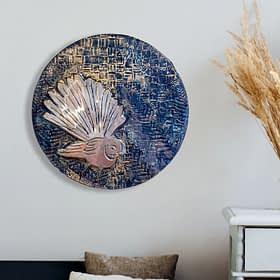 Fantail 300 Glass Wall Art