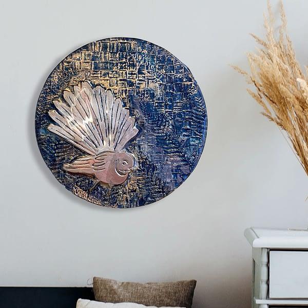 Fantail 300 Glass Wall Art