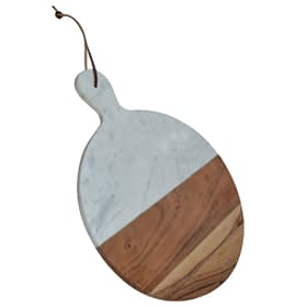 Round Chopping Board With Marble