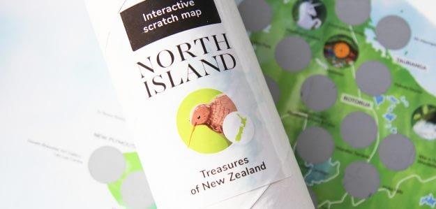 Scratch Map | Treasures of NZ