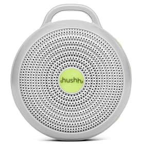 grey portable white noise machine for baby sleep