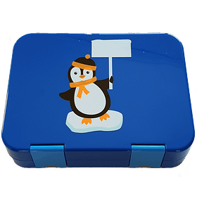 *SPECIAL Edition* Everyday Leakproof Convertible Bento 6 Lunchbox, Penguin
