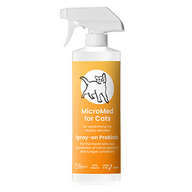 MicroMed for Cats Acute Care Topical Probiotic 500ml