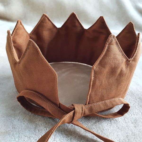 Fabric Crown Cinnamon (back)