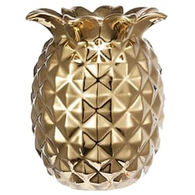 Decorative Pineapple Vase - gold