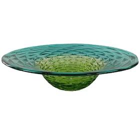 Blue-Green Platter