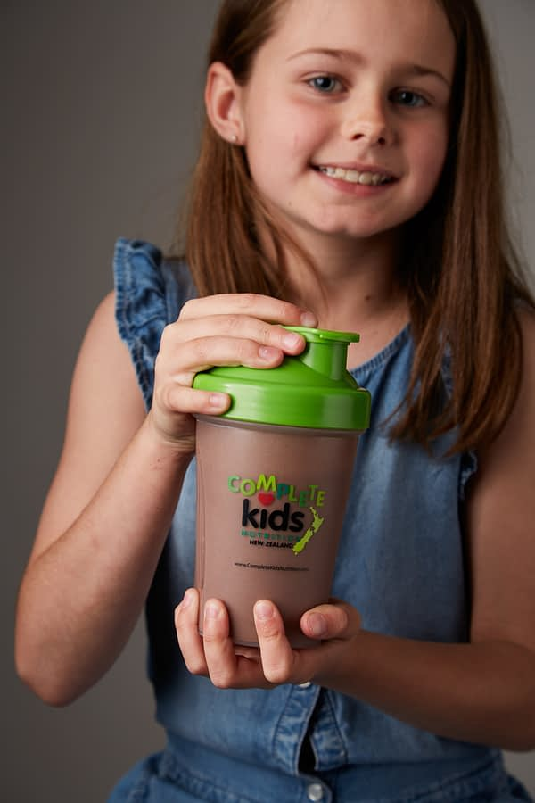 Girl holding CKN shake
