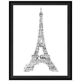 Paris Love - Framed Wall Art