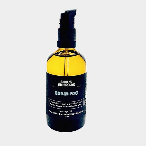 massage oil for brain fog