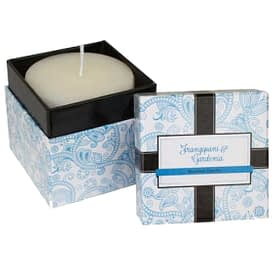 Frangipani & Gardenia Boxed Candle - 7.5cm