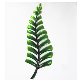 Fern Metal Art Wall Hanging - Green