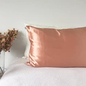 Silk Pillowcase Rose Gold - Monday Silks