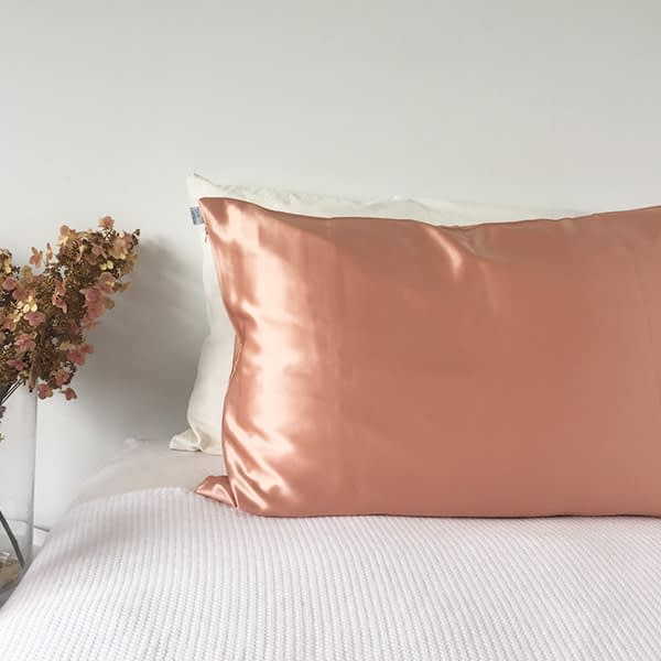 Silk Pillowcase Rose Gold - Monday Silks