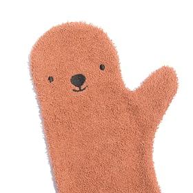 Baby Shower Glove - rust