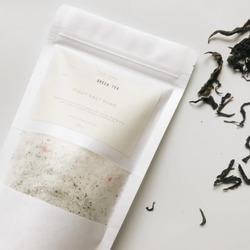 Green Tea - Fizzy Salt Soak